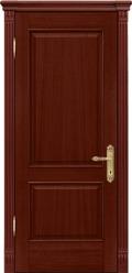 Двери Межкомнатные двери Рада Верона Валенсия Красное дерево Глухая