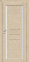 Дверь экошпон серии Duplex 2 капучино