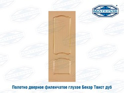 Полотно дверное ТВИСТ глухое дуб 600х2000мм арт52-3