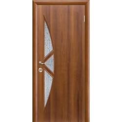 Межкомнатная дверь Фрамир Эко шпон Амалия полотно со стеклом