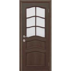 Межкомнатная дверь Фрамир Эко шпон Сицилия полотно со стеклом
