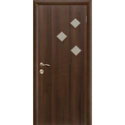 Межкомнатная дверь Фрамир Эко шпон Фрегат полотно со стеклом