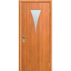 Межкомнатная дверь Фрамир Эко шпон Грация полотно со стеклом