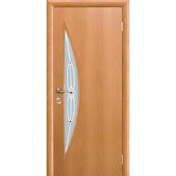 Межкомнатная дверь Фрамир Эко шпон Лагуна полотно со стеклом