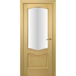 Межкомнатная дверь Фрамир Шпон Нева дуб полотно со стеклом