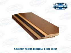 Комплект доборных планок для дверной коробки ТВИСТ карельский орех 140мм