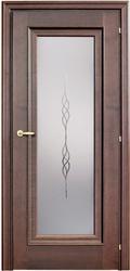 Двери Межкомнатные двери Mario Rioli ROMANTICO Ясень Шоколад 501