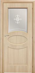 Двери Межкомнатные двери Mario Rioli Saluto Saluto 621 R2O бежевый палисандр