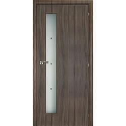 Двери Межкомнатные двери Mario Rioli Saluto Saluto 201 F серый палисандр