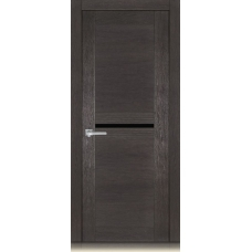 Межкомнатная дверь Мебель массив  Неаполь 4 шпон пепельный дуб полотно со стеклом