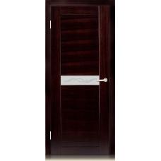 Межкомнатная дверь Мебель массив  Стелла-н шпон венге н полотно со стеклом