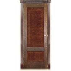 Межкомнатная дверь Мебель массив  Болония шпон коньячный дуб полотно глухое