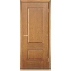 Межкомнатная дверь Мебель массив  Верона шпон светлый дуб полотно глухое