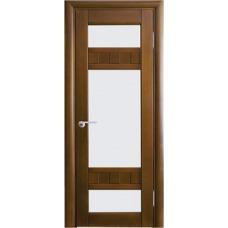 Межкомнатная дверь Волховец Vario 0520 шпон бук орех полотно со стеклом