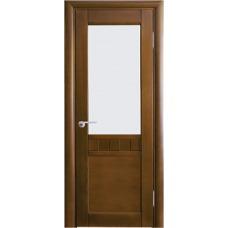 Межкомнатная дверь Волховец Vario 0510 шпон бук орех полотно со стеклом
