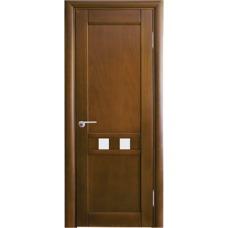 Межкомнатная дверь Волховец Vario 0511 шпон бук орех полотно со стеклом