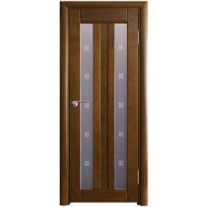 Межкомнатная дверь Волховец Vario 0260 шпон бук орех полотно со стеклом