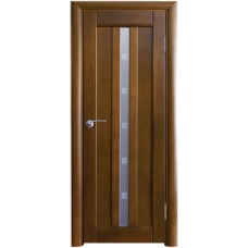 Межкомнатная дверь Волховец Vario 0250 шпон бук орех полотно со стеклом