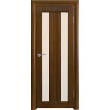 Межкомнатная дверь Волховец Vario 0220 шпон бук орех полотно со стеклом