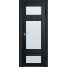 Межкомнатная дверь Волховец Vario 0520 шпон бук венге полотно со стеклом