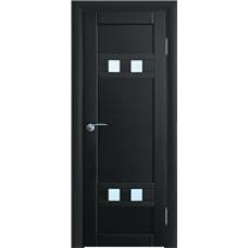 Межкомнатная дверь Волховец Vario 0521 шпон бук венге полотно со стеклом