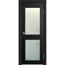 Межкомнатная дверь Волховец Vario 0310 шпон бук венге полотно со стеклом