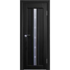 Межкомнатная дверь Волховец Vario 0250 шпон бук венге полотно со стеклом