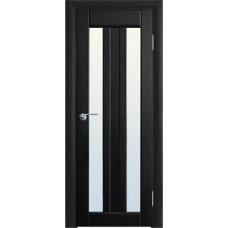 Межкомнатная дверь Волховец Vario 0220 шпон бук венге полотно со стеклом