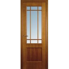 Межкомнатная дверь Волховец Classic 1022 шпон анегри полотно со стеклом