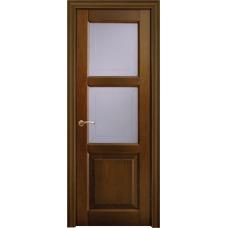 Межкомнатная дверь Волховец Legend 0132 шпон бук орех полотно со стеклом