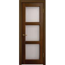 Межкомнатная дверь Волховец Legend 0130 шпон бук орех полотно со стеклом