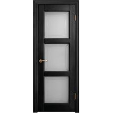 Межкомнатная дверь Волховец Legend 0130 шпон бук венге полотно со стеклом