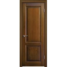 Межкомнатная дверь Волховец Legend 0141 шпон бук орех полотно глухое