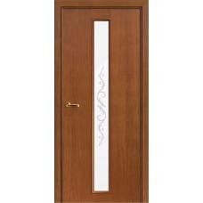 Межкомнатная дверь Волховец Nuance 3026 шпон анегри шоколад полотно со стеклом