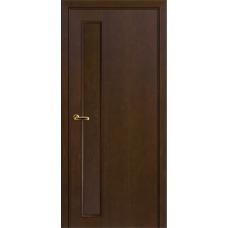 Межкомнатная дверь Волховец Nuance 3023 шпон красное дерево мокко полотно глухое